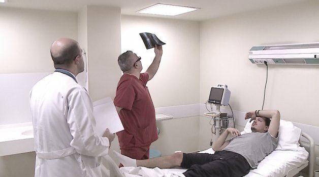 Dëmtimi në gju, mjekët vendosin a do kërcej të hënën