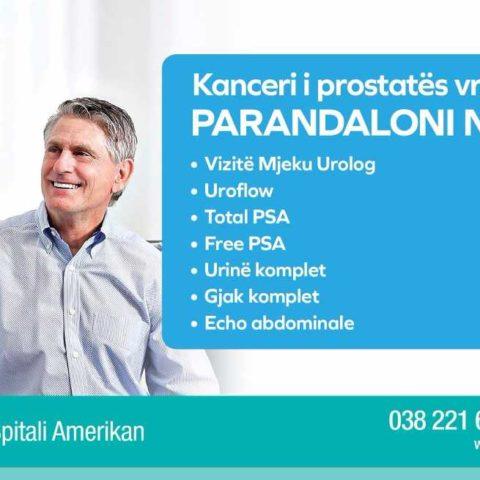 Sensibilizim kundër Kancerit të Prostatës